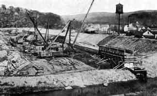1922 Dam Construction