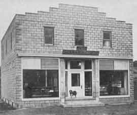 J.G. & W.H. Rhinesmith Store also served as Midvale Post Office