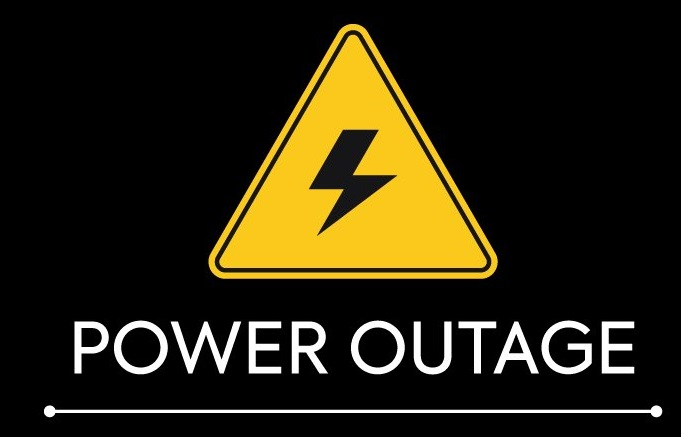 Library closed due to power outage