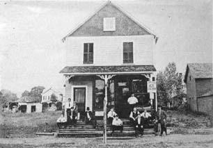 John  Schiaffino's Store on Railroad Avenue, 1905