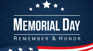 Memorial Day - Library Closed