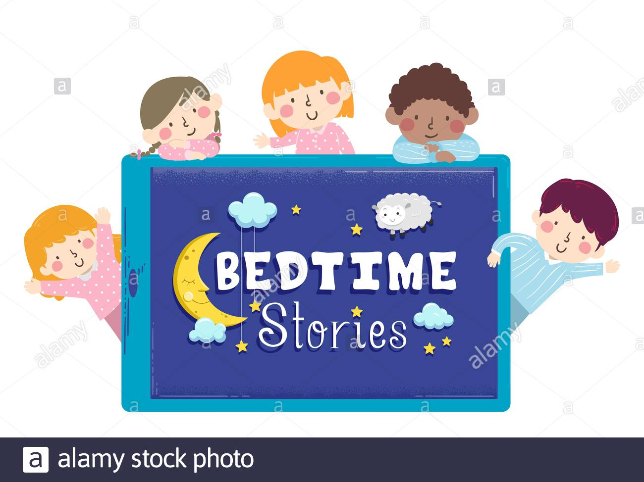 Virtual Friday night bedtime stories!