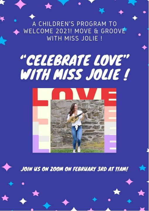 Celebrate Love with Miss Jolie!